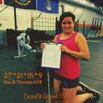 CrossFit Games, Thrusters, Rowing, WOD