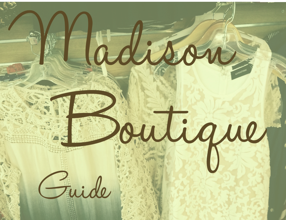 Madison Alabama Boutique Guide