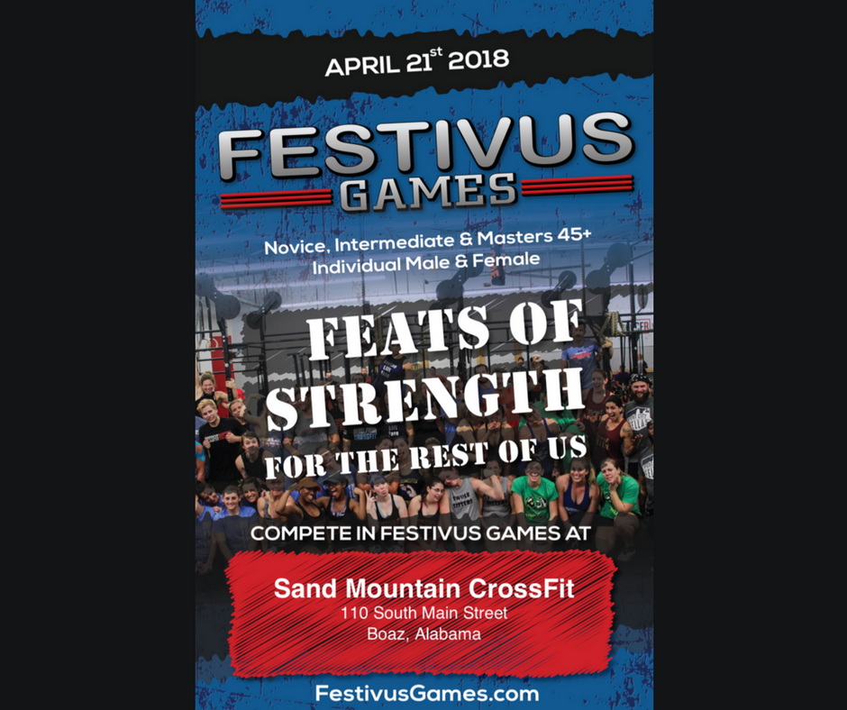My First Fitness Competition – The Festivus Games!