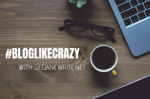 #BlogLikeCrazy November is Blog Like Crazy