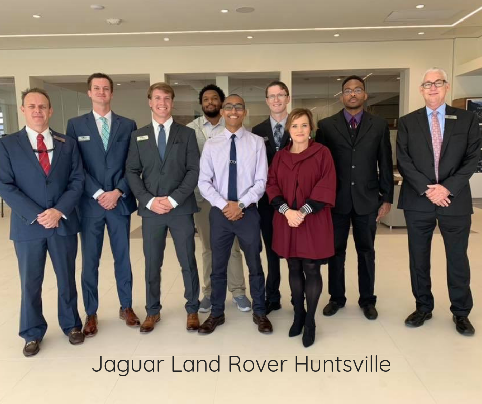 New Job Jaguar Land Rover Huntsville